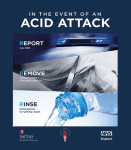 Acid Attack Advice