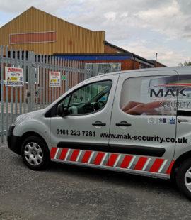 Mak Security Van
