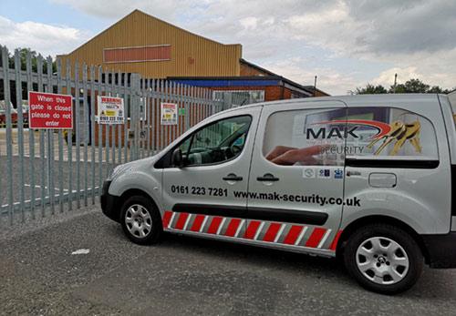 Mak Security Services Van
